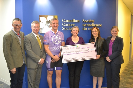 7 Days in May Contributes $41,500 to Canadian Cancer Trials Group