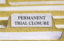 trials which have now been deemed permanently closed/terminated by their respective lead group