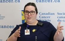 Dr Lacey Pitre is an Oncologist and CCTG researcher at the Northeast Cancer Centre in Sudbury