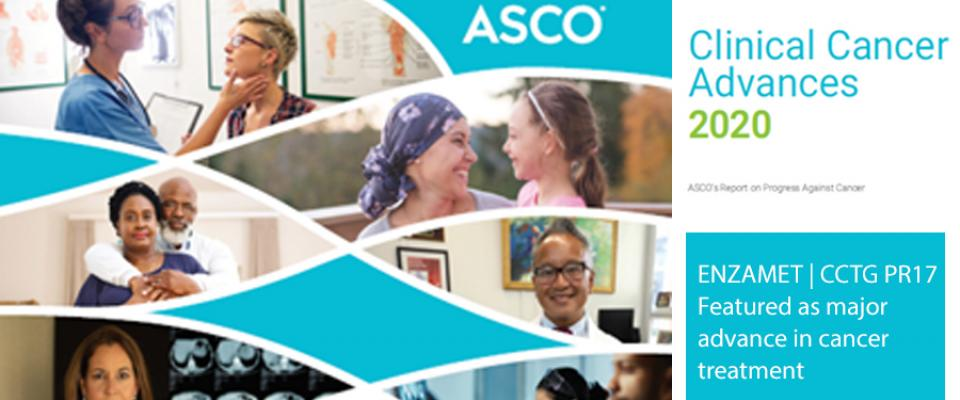 PR17 (ENZAMET) featured in ASCO's Clinical Cancer Advances 2020