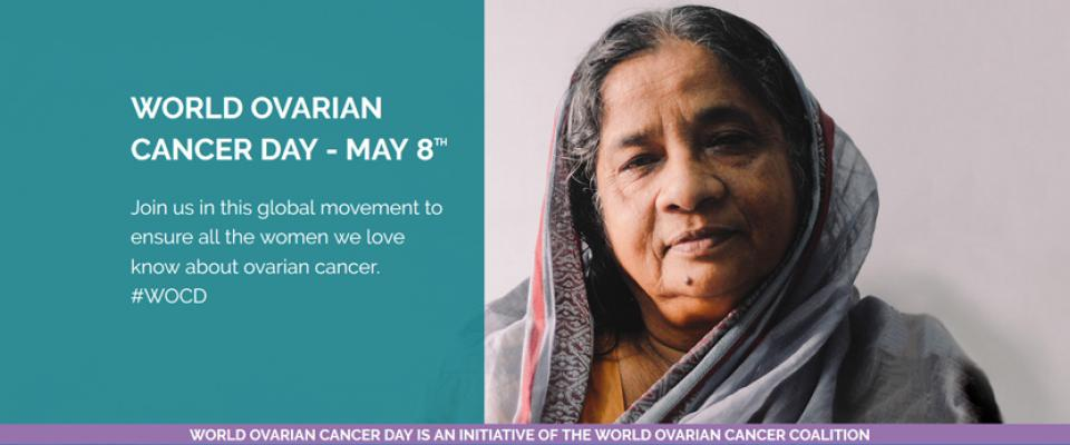 Community Action On World Ovarian Cancer Day May 8th Canadian Cancer Trials Group